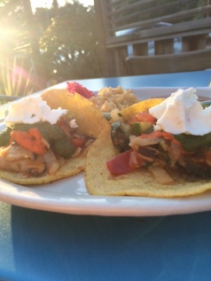 Veggie Taco's at The Farmer & The Cook