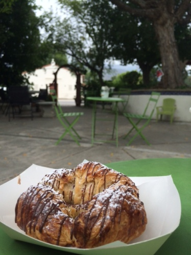 Delicious Nutella Croissant at Knead