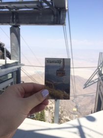 Top of the aerial tramway