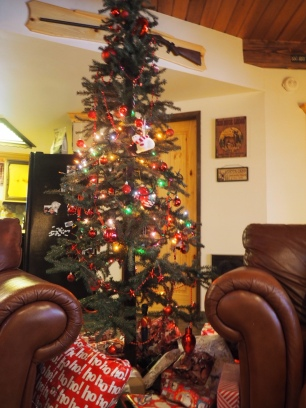 The tree in the cabin