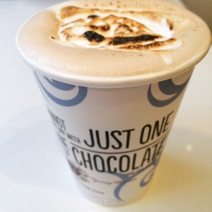 Mink hot chocolate.